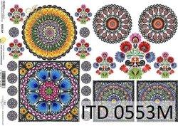 Papier decoupage ITD D0553M