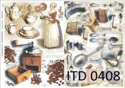 Papier decoupage ITD D0408M