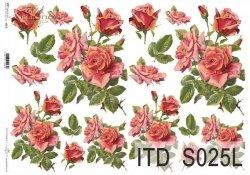 Papier decoupage SOFT ITD S0025L