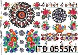 Papier decoupage ITD D0555M