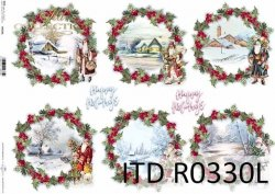 Papier ryżowy ITD R0330L