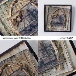 Kartka okolicznościowa Love - praca Asha