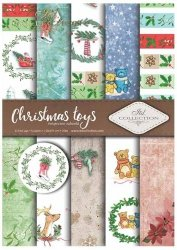 .Papier do scrapbookingu SCRAP-026 ''Christmas toys