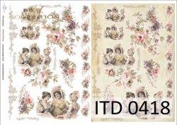 Papier decoupage ITD D0418M