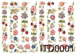 Papier decoupage ITD D0001