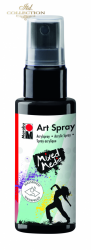 Acrylic spray Marabu Art 50 ml - Black 073