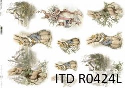 Papier ryżowy ITD R0424L