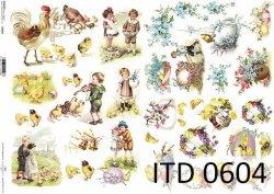 Papier decoupage ITD D0604