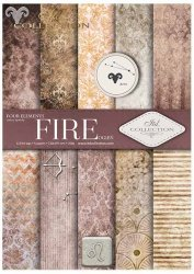 .Papier do scrapbookingu SCRAP-030 ''Fire