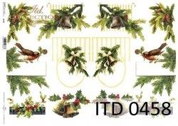 Papier decoupage ITD D0458