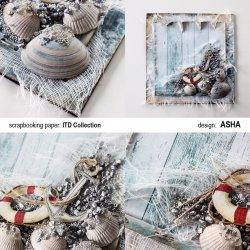 Kartka okolicznościowa Morza Szum - praca Asha