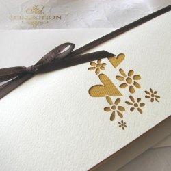 Zaproszenia ślubne / zaproszenie 01734_58_żółty