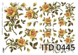 Papier decoupage ITD D0445