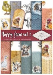 .Papier do scrapbookingu SCRAP-038 ''Happy farm vol.2