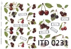 Papier decoupage ITD D0231