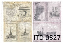 Papier decoupage ITD D0327