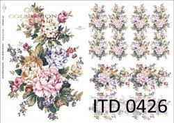 Papier decoupage ITD D0426M