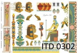 Papier decoupage ITD D0302M