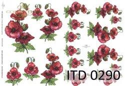 Papier decoupage ITD D0290M
