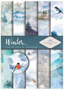 Скрапбукинг бумаги SCRAP-019 ''Зима