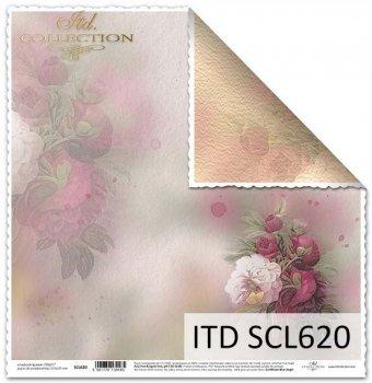 Бумага для скрапбукинга SCL620