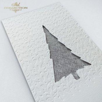 Рождественская и Новогодняя открытка K582s