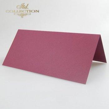 Заготовки для открыток BDK-004 бордовый цвет