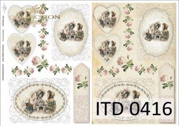 бумага для декупажа классическая D0416M