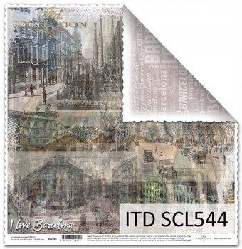 Бумага для скрапбукинга SCL544