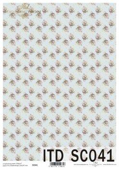 бумага для скрапбукинга SC0041