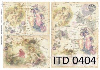 бумага для декупажа классическая D0404