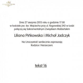 .text pro svatební oznámení - TS16