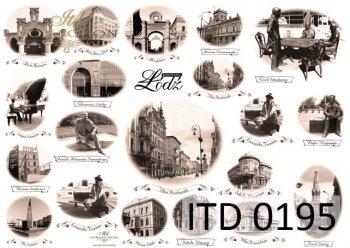бумага для декупажа классическая D0195
