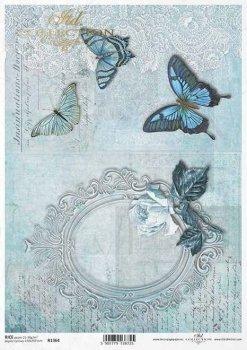 рисовая бумага для декупажа R1364