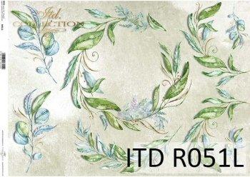 рисовая бумага для декупажа R0051L