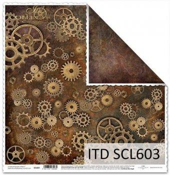 Бумага для скрапбукинга SCL603