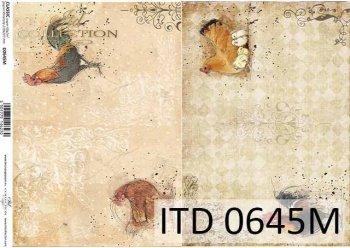 бумага для декупажа классическая D0645M