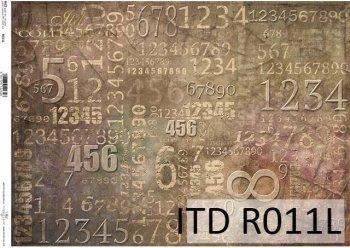 рисовая бумага для декупажа R0011L