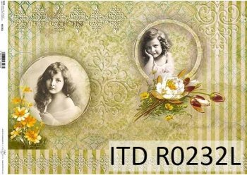 рисовая бумага для декупажа R0232L