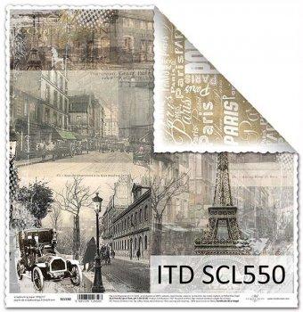 Бумага для скрапбукинга SCL550