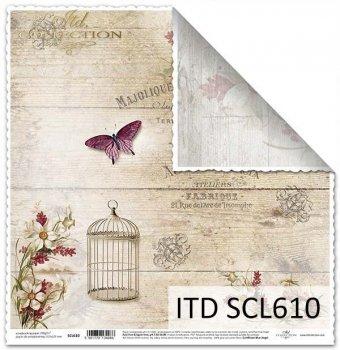 Бумага для скрапбукинга SCL610
