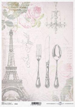 рисовая бумага для декупажа R0710