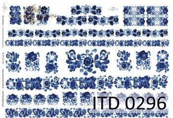 бумага для декупажа классическая D0296