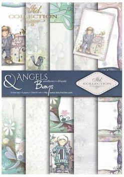 Скрапбукинг бумаги SCRAP-031 ''Ангелы и мальчики''