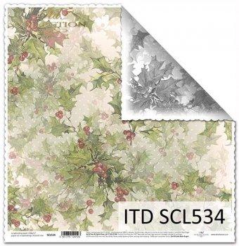 Бумага для скрапбукинга SCL534
