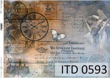 бумага для декупажа классическая D0593