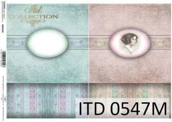 бумага для декупажа классическая D0547M