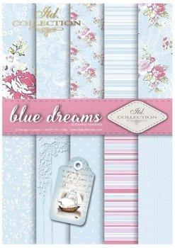 Скрапбукинг бумаги SCRAP-041 ''blue dreams''