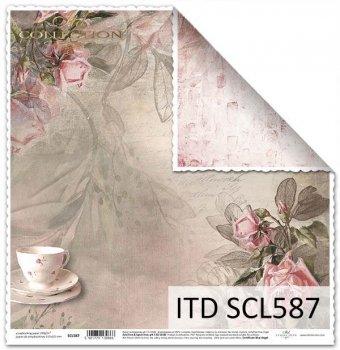 Бумага для скрапбукинга SCL587
