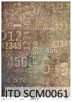 Скрапбукинг бумаги SCM0061